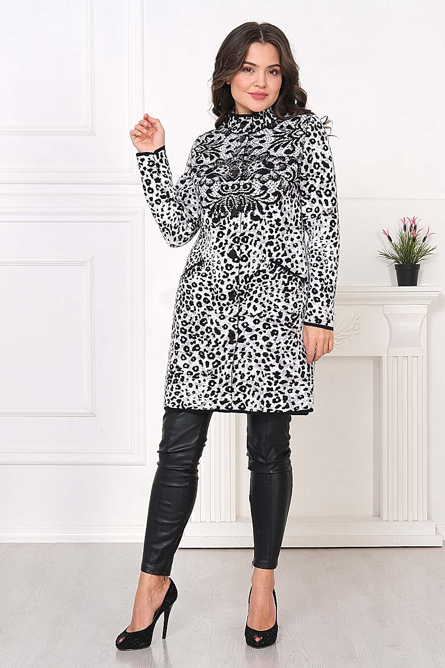 Кардиган для женщин ANKOLI 184363 купить оптом от производителя. Совместная покупка женской одежды в OptMoyo