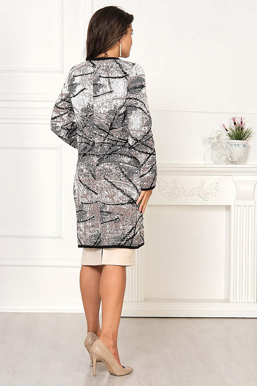 Кардиган для женщин ANKOLI 184395 купить оптом от производителя. Совместная покупка женской одежды в OptMoyo