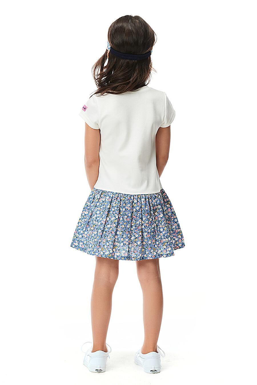 Платье для девочек LUCKY CHILD 184439 купить оптом от производителя. Совместная покупка детской одежды в OptMoyo