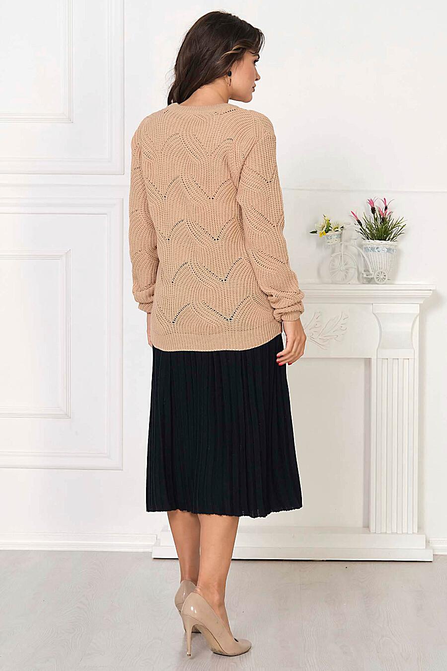 Джемпер для женщин ANKOLI 184506 купить оптом от производителя. Совместная покупка женской одежды в OptMoyo