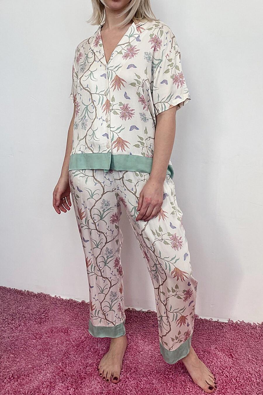 Пижама для женщин INDEFINI 184542 купить оптом от производителя. Совместная покупка женской одежды в OptMoyo