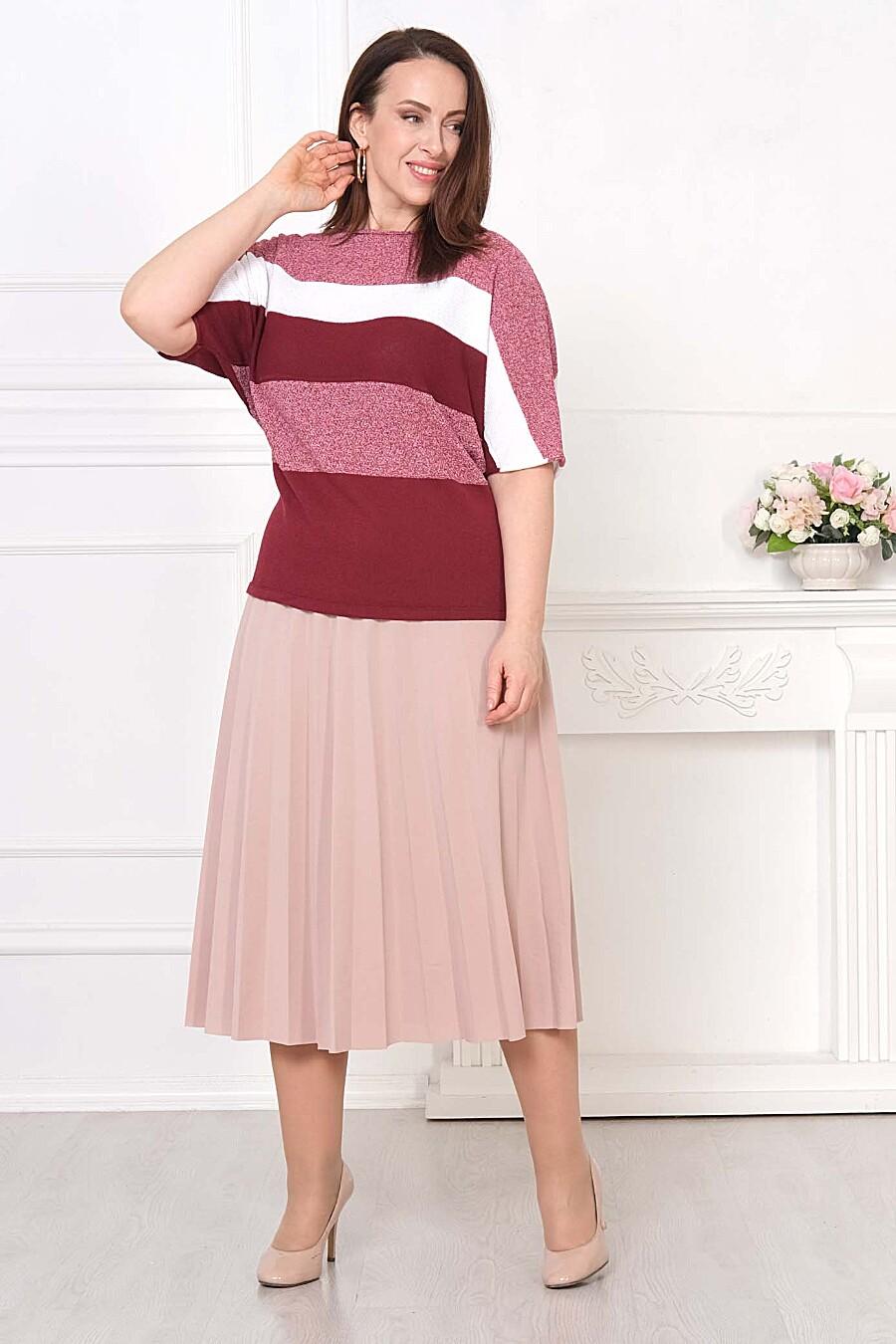 Джемпер для женщин ANKOLI 184548 купить оптом от производителя. Совместная покупка женской одежды в OptMoyo
