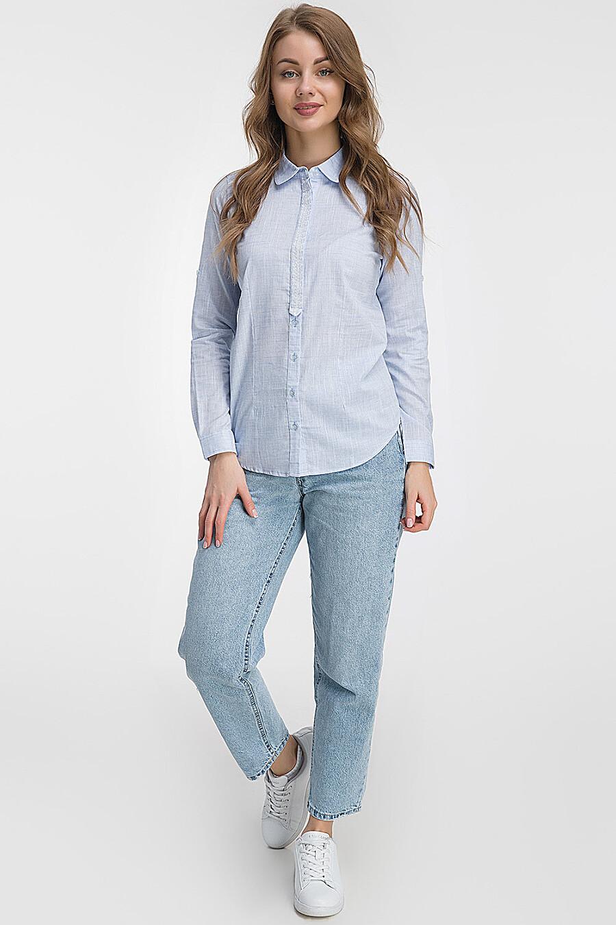 Рубашка для женщин MODALIME 184580 купить оптом от производителя. Совместная покупка женской одежды в OptMoyo