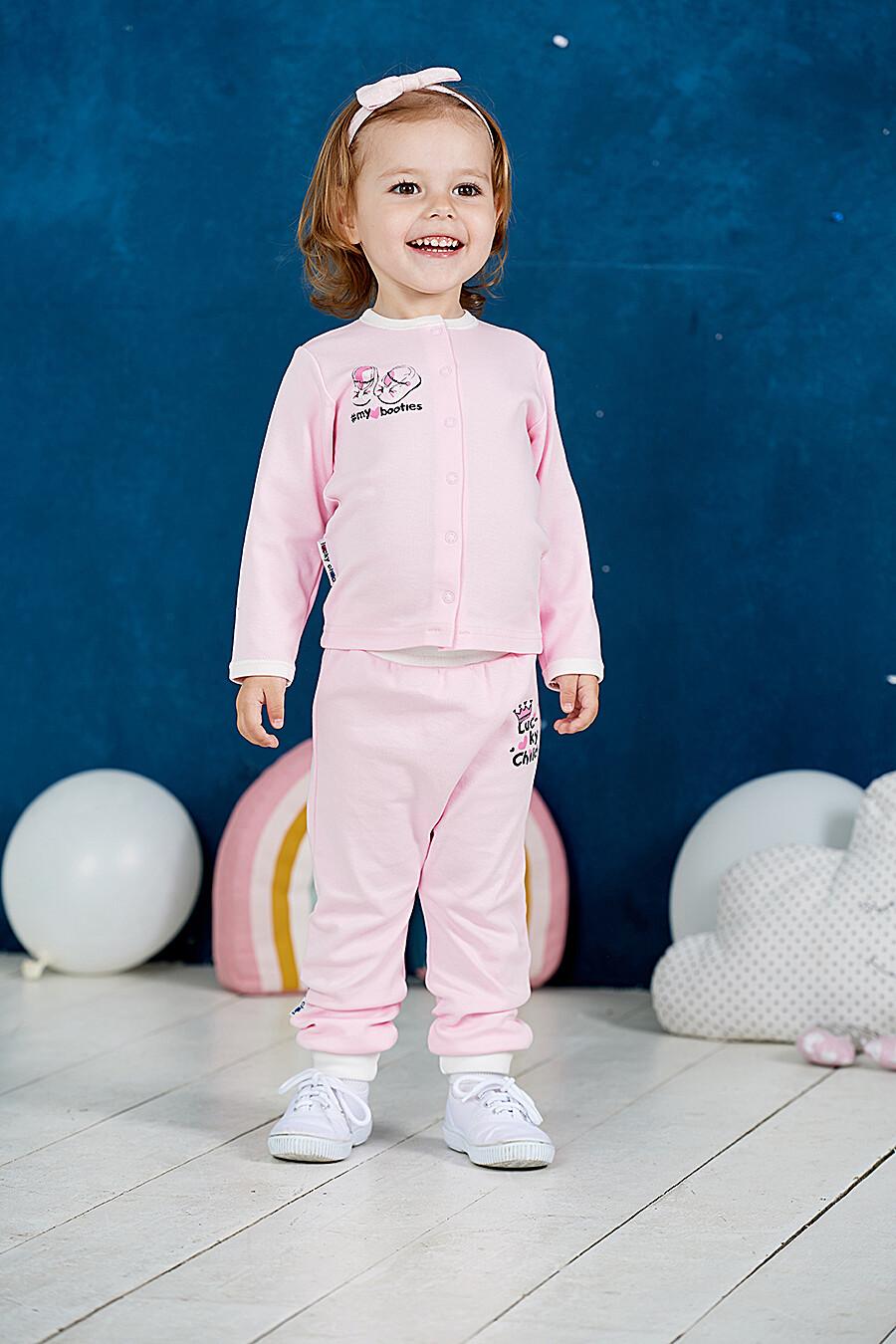 Кофта для девочек LUCKY CHILD 184775 купить оптом от производителя. Совместная покупка детской одежды в OptMoyo