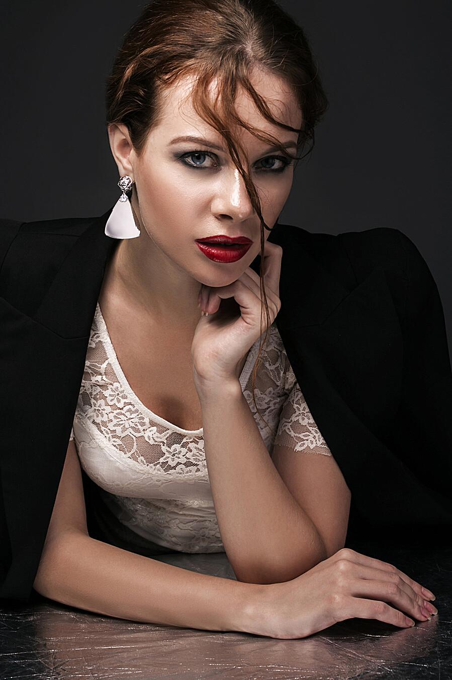 Серьги Мелодия Бродвея с камнями для женщин Nothing But Love 204884 купить оптом от производителя. Совместная покупка женской одежды в OptMoyo