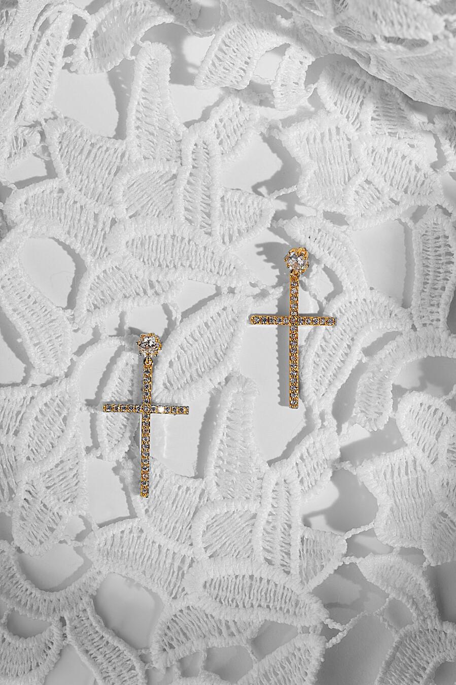 Серьги кресты Под крышами Парижа Nothing But Love (204896), купить в Moyo.moda
