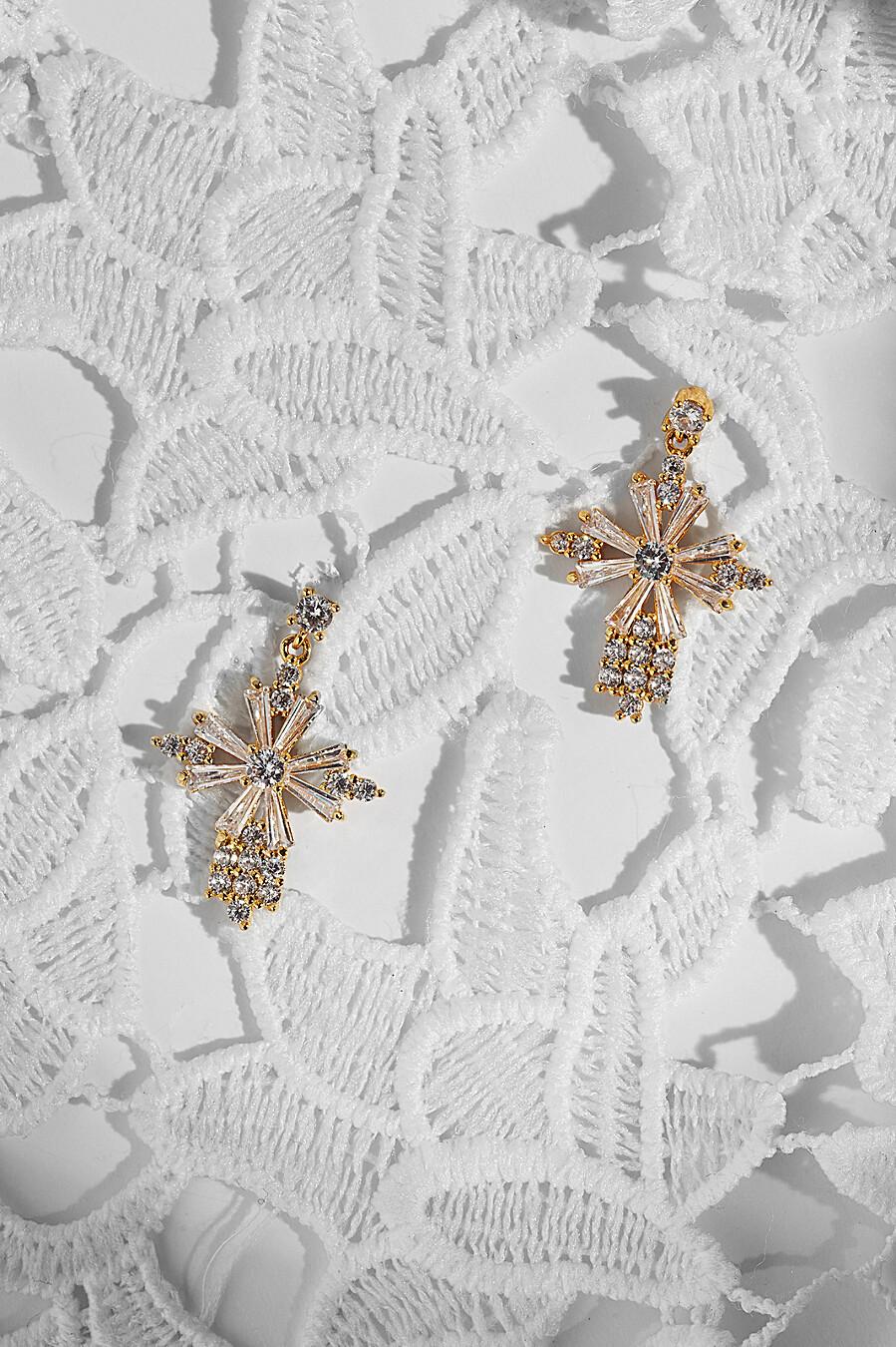 Серьги с крестами Поющие под дождем для женщин Nothing But Love 204907 купить оптом от производителя. Совместная покупка женской одежды в OptMoyo