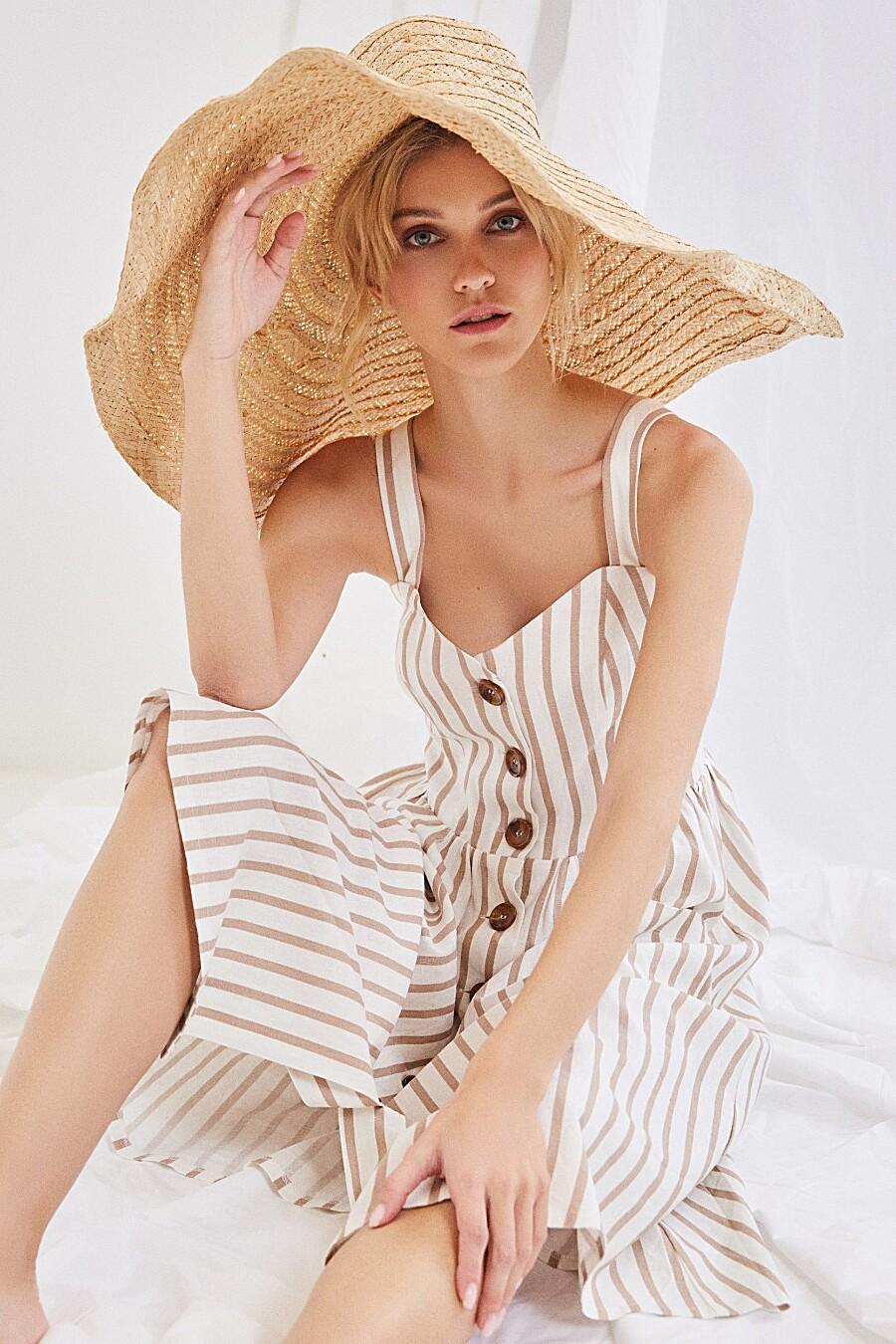 Сарафан для женщин ZARINA 205239 купить оптом от производителя. Совместная покупка женской одежды в OptMoyo