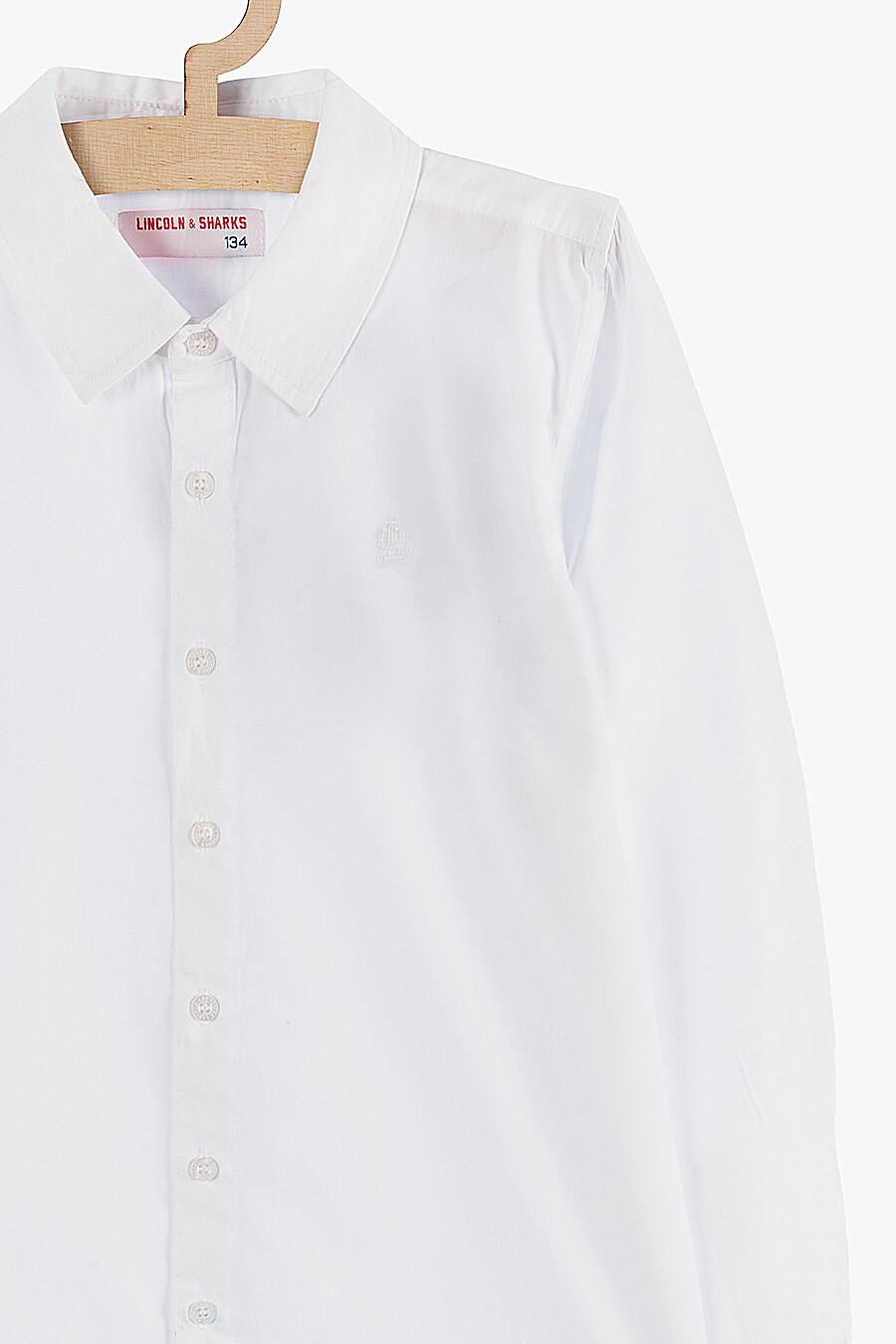 Рубашка для мальчиков 5.10.15 218380 купить оптом от производителя. Совместная покупка детской одежды в OptMoyo