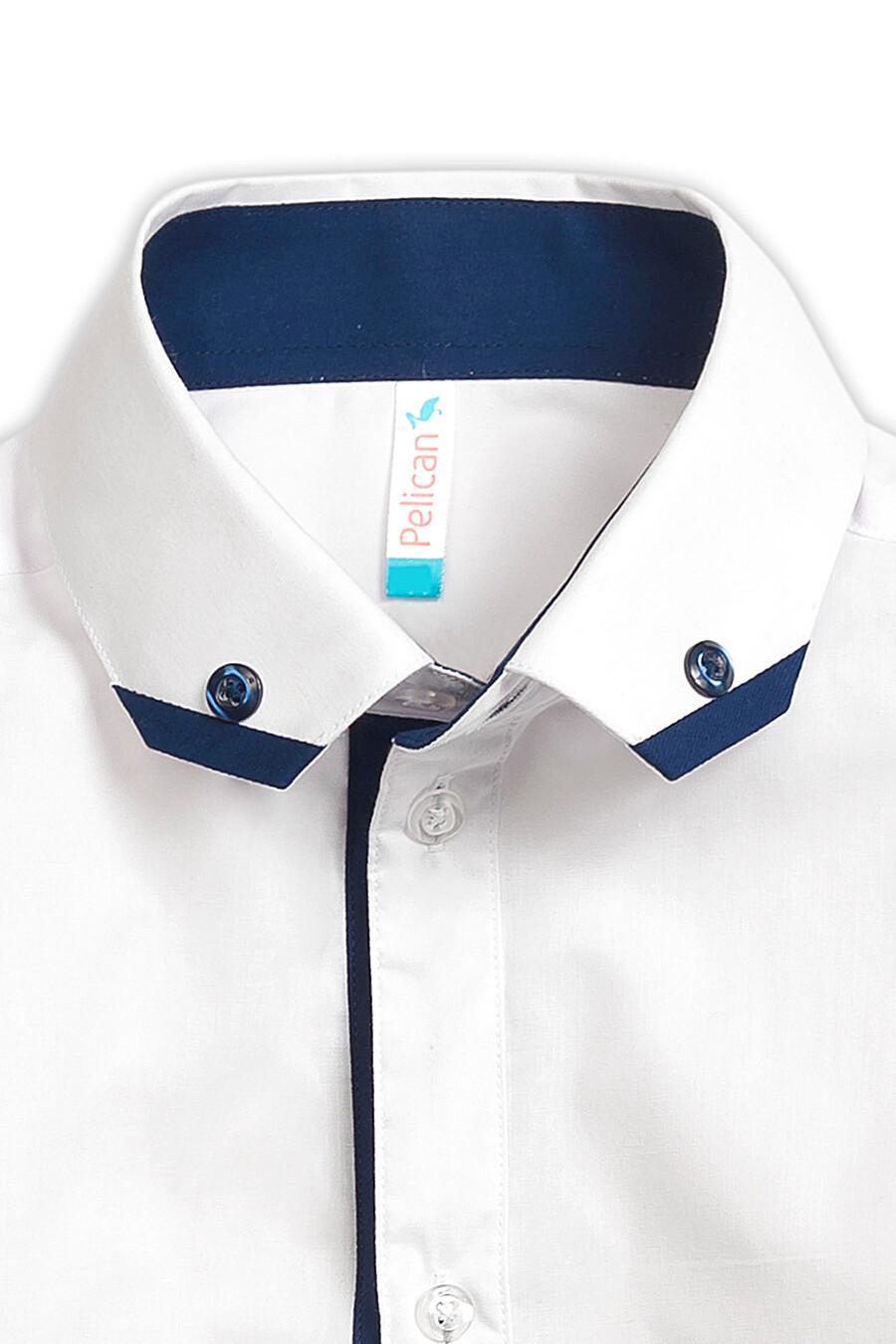 Сорочка для мальчиков PELICAN 218514 купить оптом от производителя. Совместная покупка детской одежды в OptMoyo