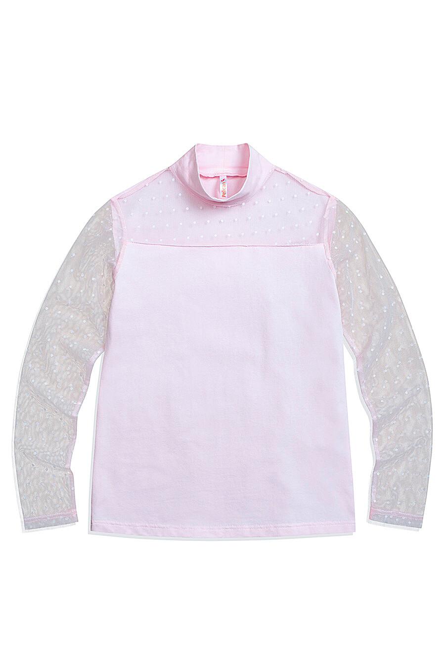 Блузка для девочек PELICAN 218561 купить оптом от производителя. Совместная покупка детской одежды в OptMoyo
