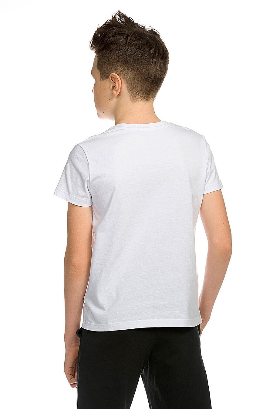 Футболка для мальчиков PELICAN 218586 купить оптом от производителя. Совместная покупка детской одежды в OptMoyo