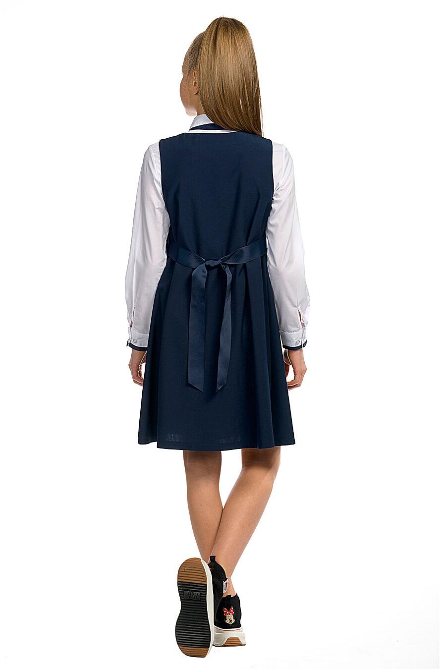 Сарафан для девочек PELICAN 218608 купить оптом от производителя. Совместная покупка детской одежды в OptMoyo