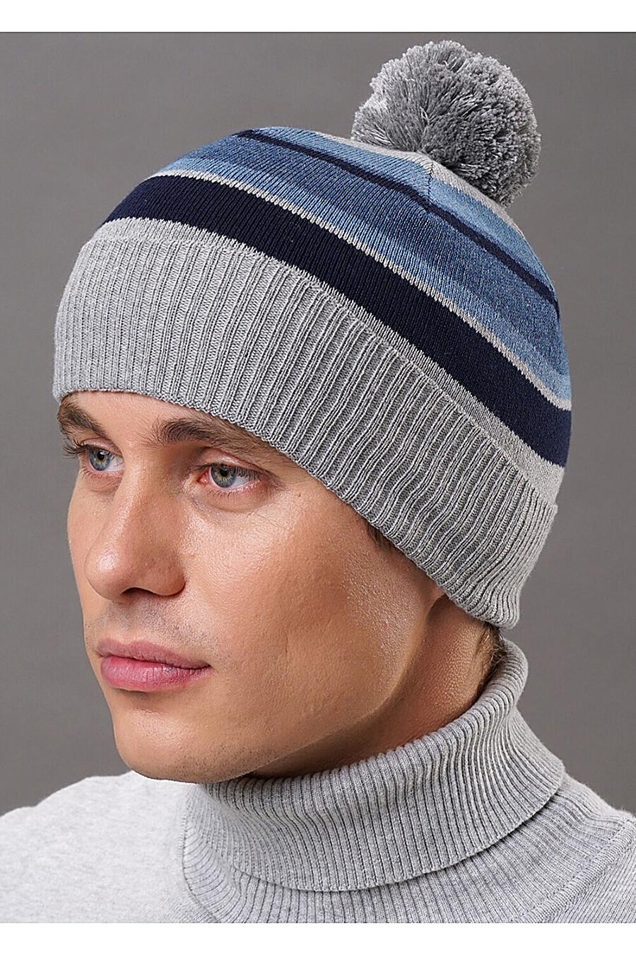 Шапка для мужчин CLEVER 219418 купить оптом от производителя. Совместная покупка мужской одежды в OptMoyo