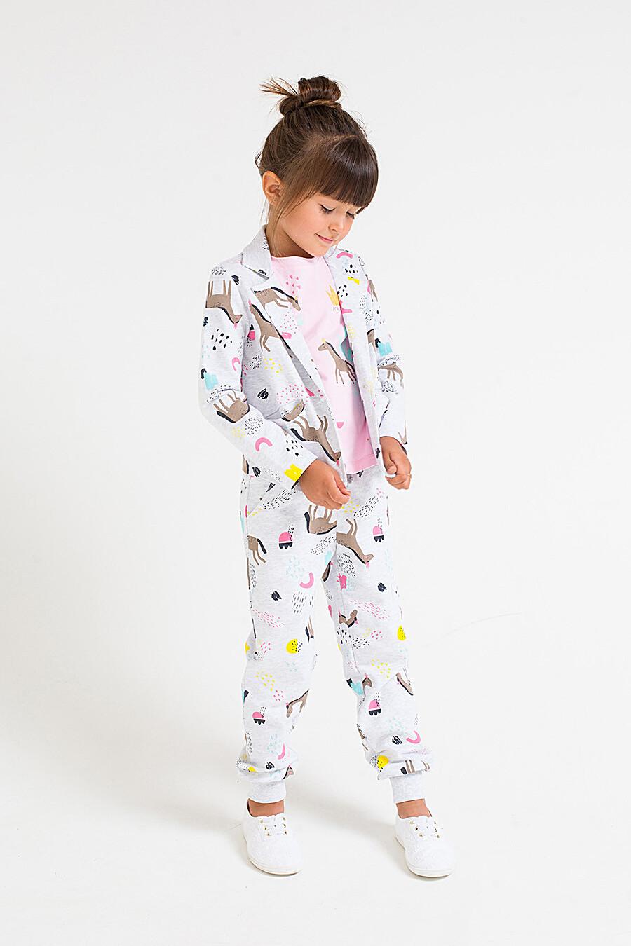 Брюки для девочек CROCKID 219843 купить оптом от производителя. Совместная покупка детской одежды в OptMoyo