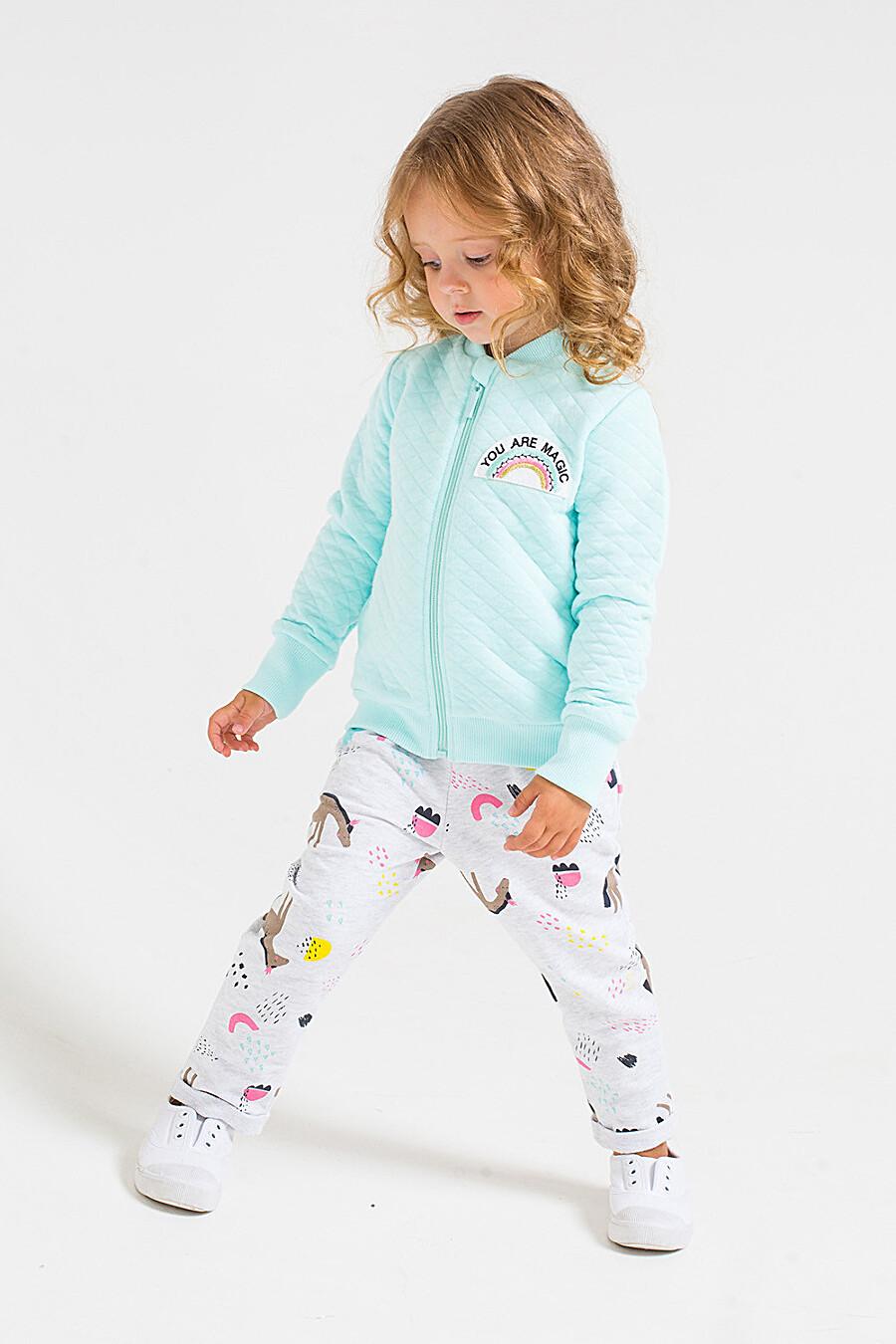 Брюки для девочек CROCKID 219861 купить оптом от производителя. Совместная покупка детской одежды в OptMoyo