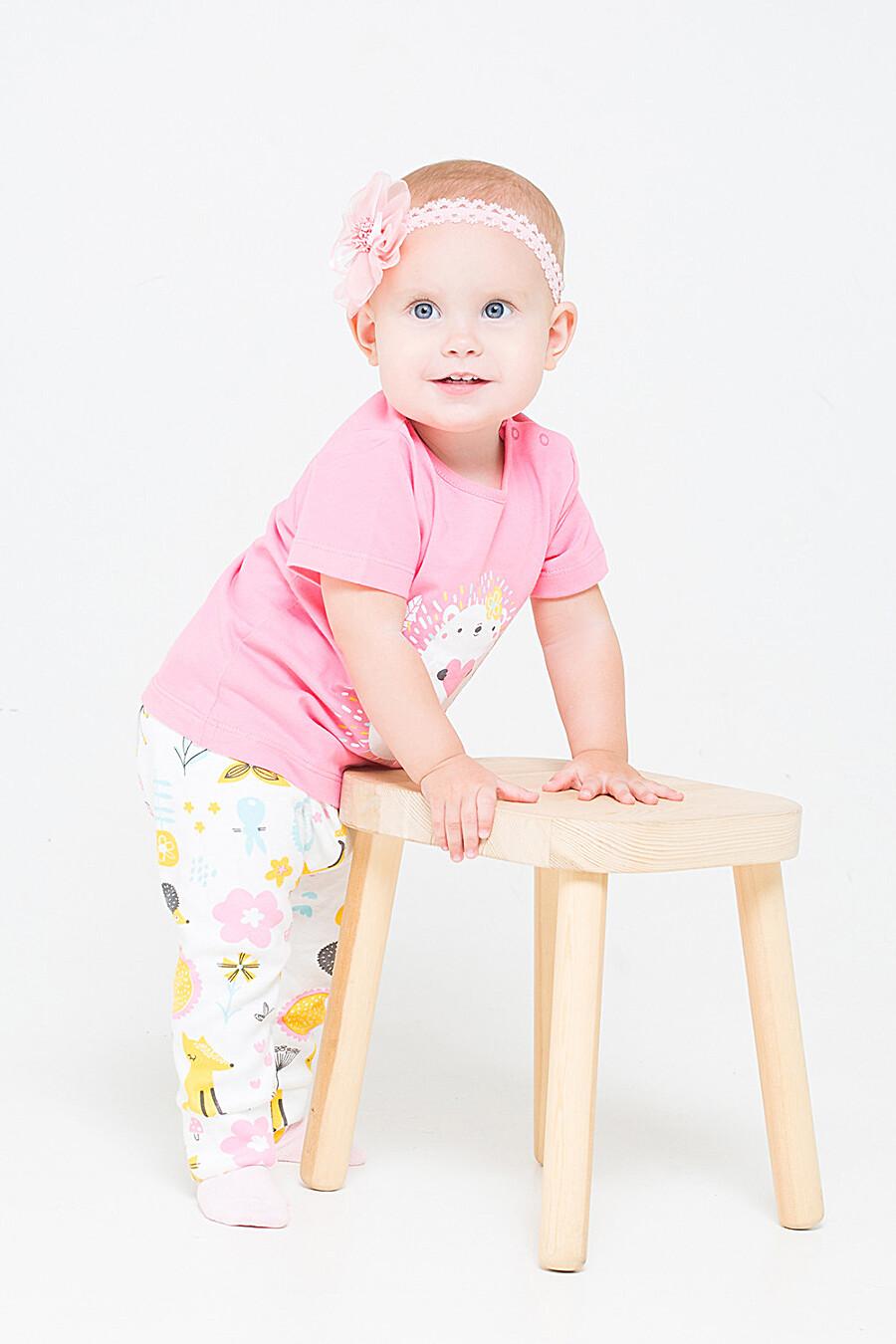 Брюки для девочек CROCKID 219936 купить оптом от производителя. Совместная покупка детской одежды в OptMoyo