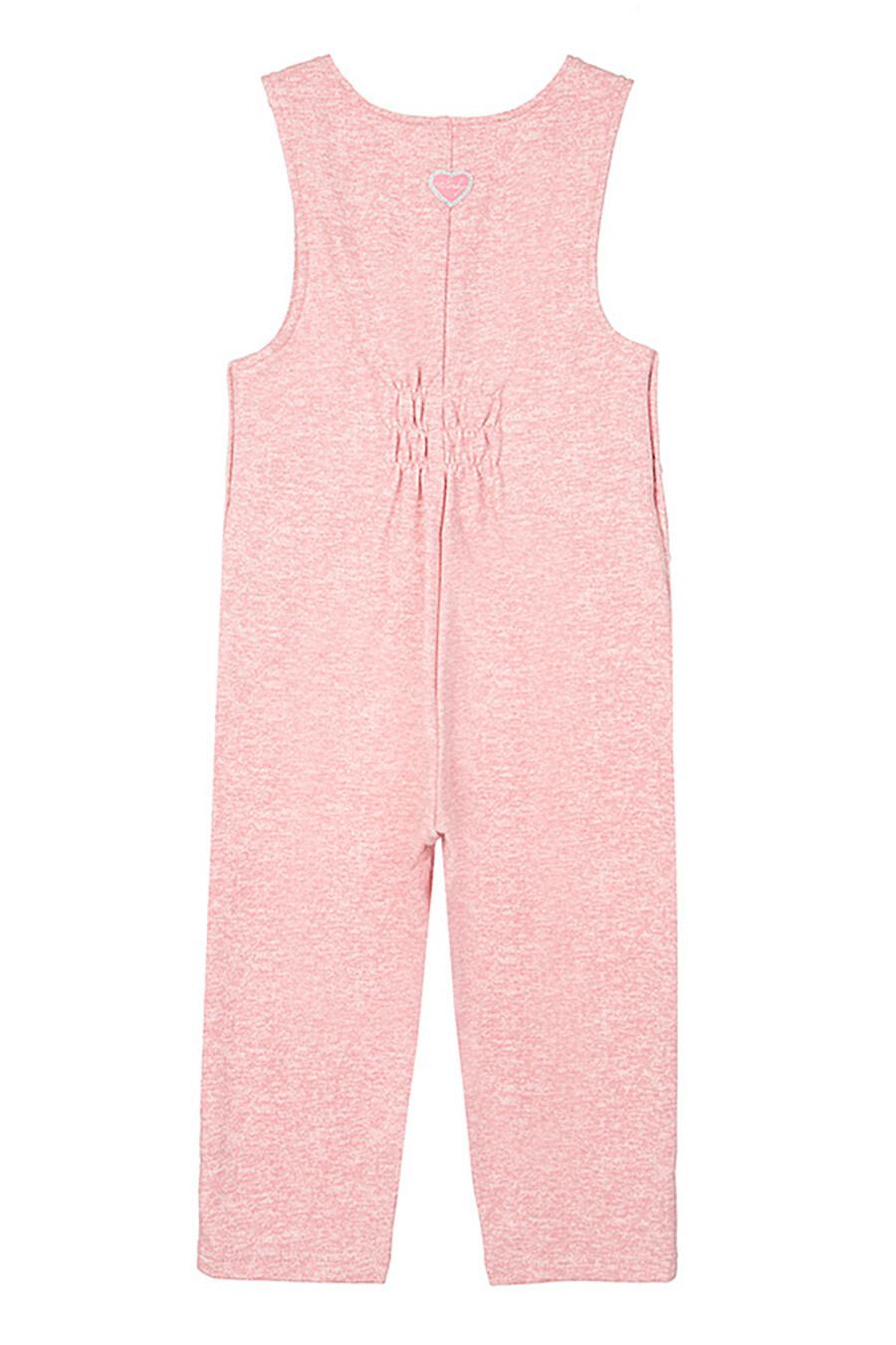 Полуомбинезон для девочек PLAYTODAY 239108 купить оптом от производителя. Совместная покупка детской одежды в OptMoyo