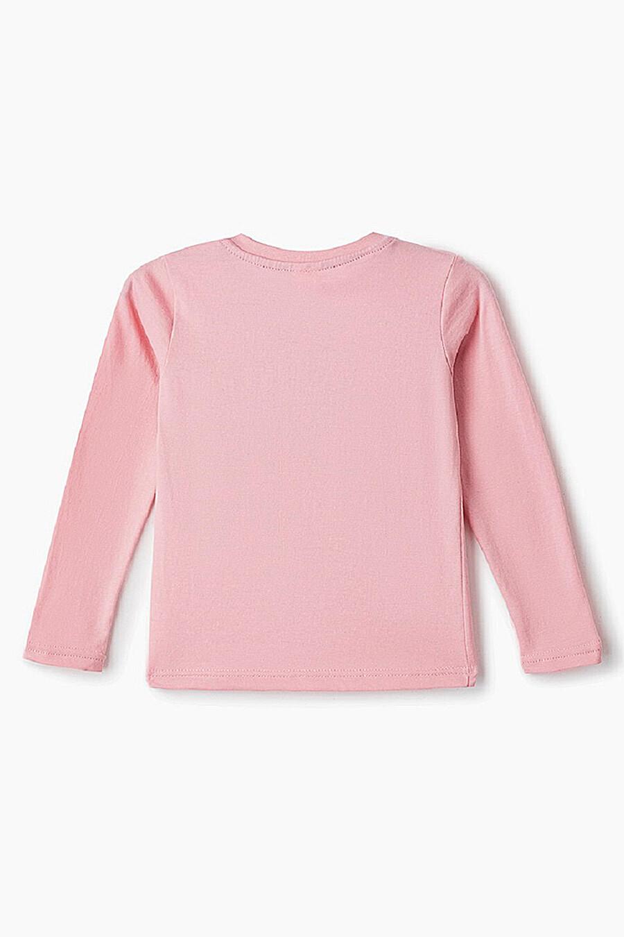 Лонгслив для девочек ELARIA 239114 купить оптом от производителя. Совместная покупка детской одежды в OptMoyo