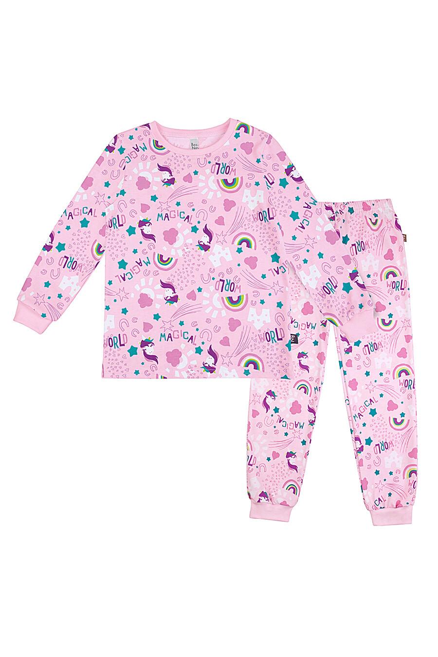 Пижама (джемпер+брюки) для девочек BOSSA NOVA 239172 купить оптом от производителя. Совместная покупка детской одежды в OptMoyo