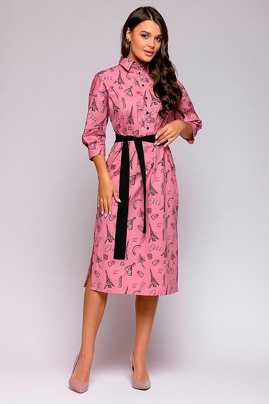 Платье для женщин 1001 DRESS 239191 купить оптом от производителя. Совместная покупка женской одежды в OptMoyo