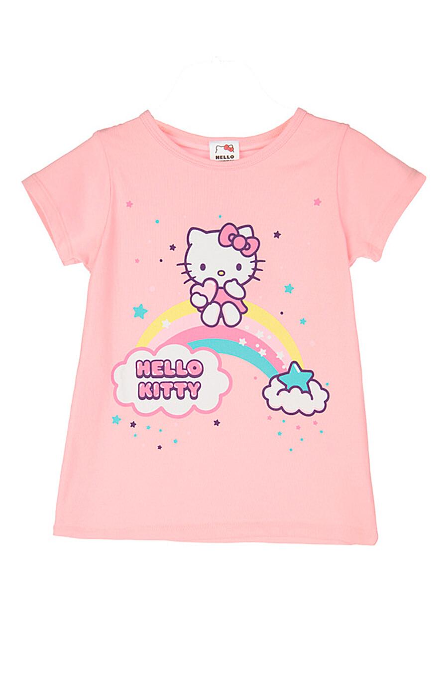 Пижама(Футболка+брюки) для девочек PLAYTODAY 239285 купить оптом от производителя. Совместная покупка детской одежды в OptMoyo