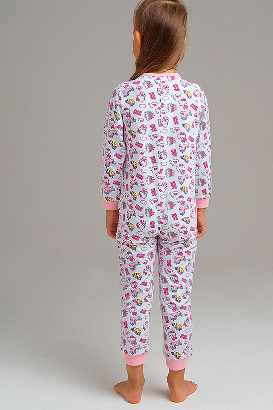 Комбинезон для девочек PLAYTODAY 239343 купить оптом от производителя. Совместная покупка детской одежды в OptMoyo