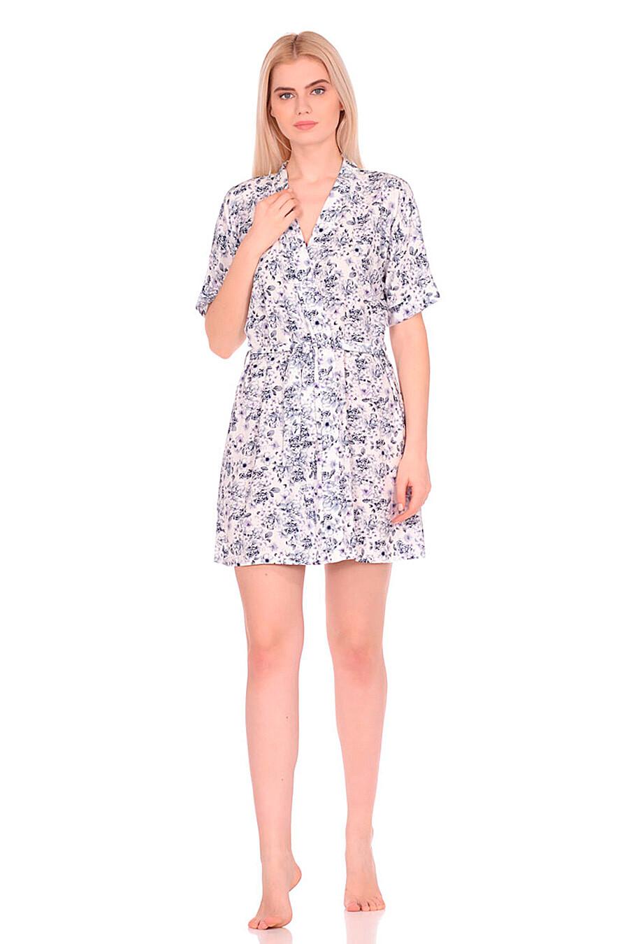 Халат для женщин N.O.A. 239602 купить оптом от производителя. Совместная покупка женской одежды в OptMoyo
