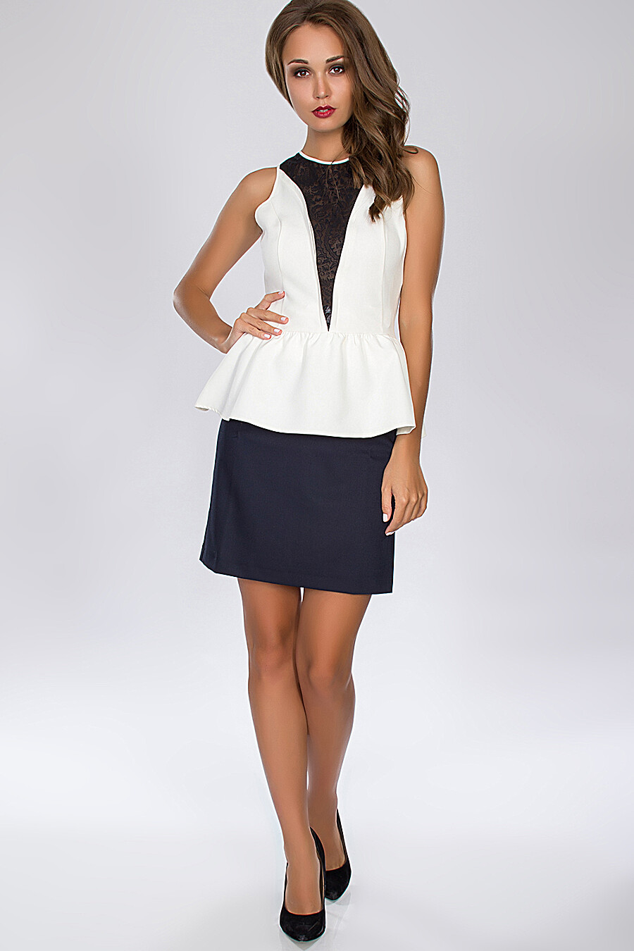 Топ для женщин GLOSS 23979 купить оптом от производителя. Совместная покупка женской одежды в OptMoyo