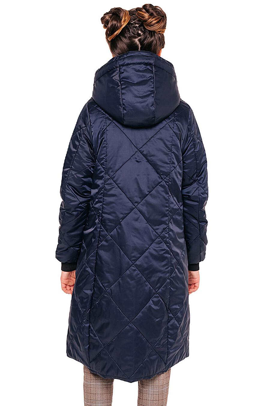 Пальто для девочек BATIK 247216 купить оптом от производителя. Совместная покупка детской одежды в OptMoyo