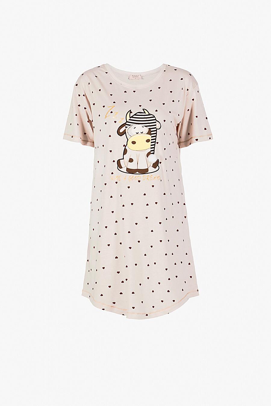 Сорочка для женщин INDEFINI 260461 купить оптом от производителя. Совместная покупка женской одежды в OptMoyo