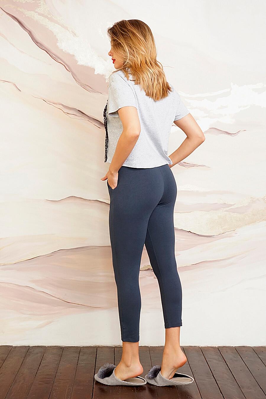 Пижама (Бриджи+Майка) для женщин INDEFINI 272374 купить оптом от производителя. Совместная покупка женской одежды в OptMoyo