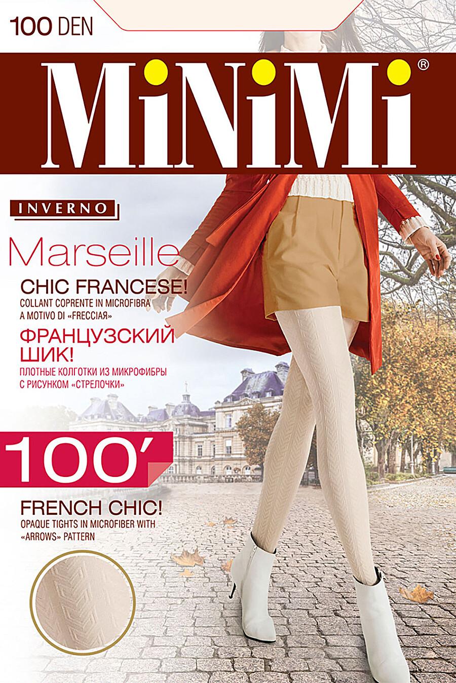 Колготки для женщин MINIMI 272588 купить оптом от производителя. Совместная покупка женской одежды в OptMoyo