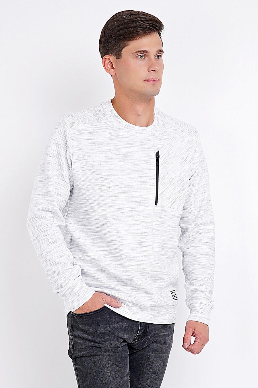 Свитшот для мужчин CLEVER 272725 купить оптом от производителя. Совместная покупка мужской одежды в OptMoyo