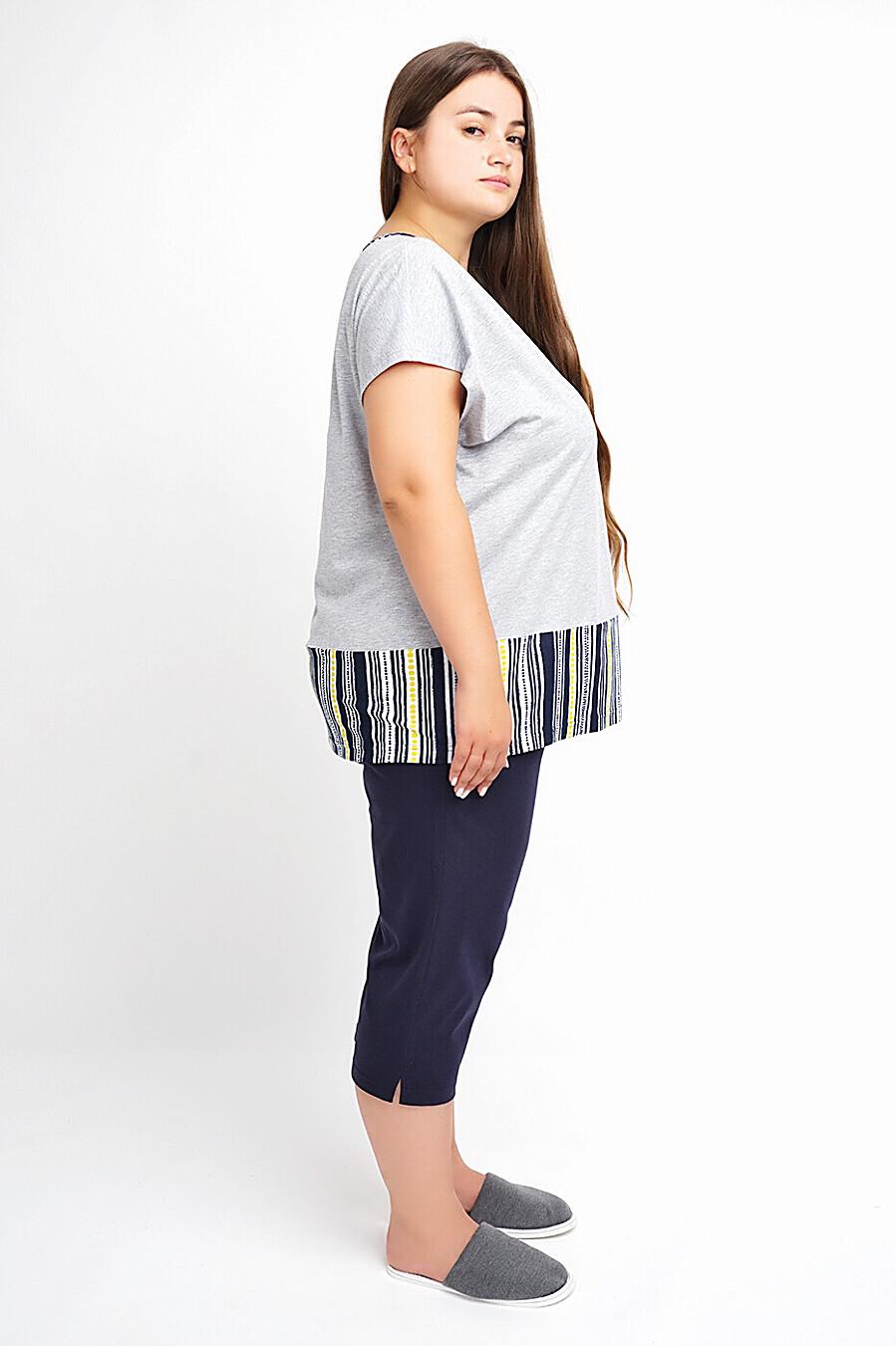 Костюм (футболка+бриджи) для женщин CLEVER 272737 купить оптом от производителя. Совместная покупка женской одежды в OptMoyo