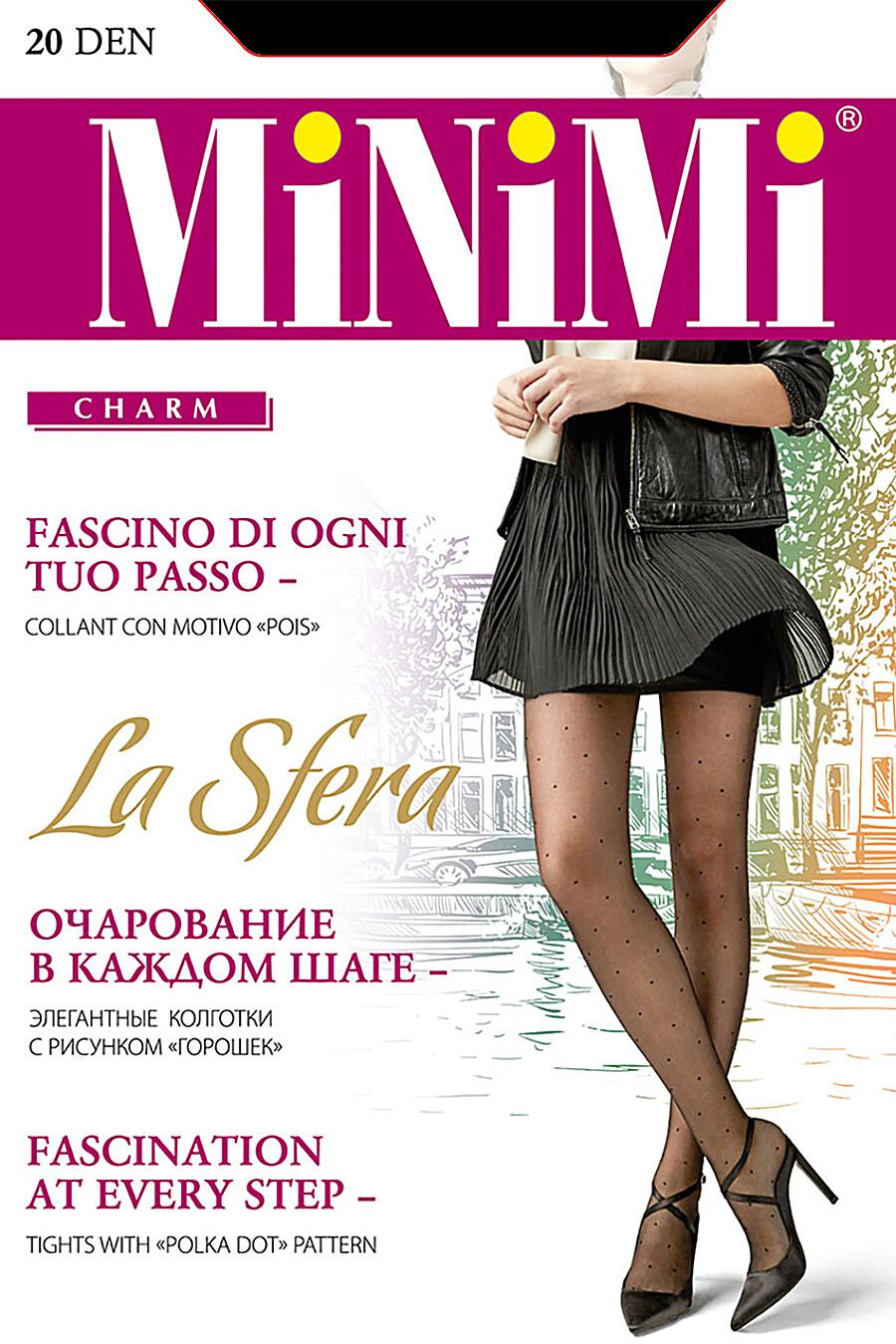 Колготки для женщин MINIMI 272750 купить оптом от производителя. Совместная покупка женской одежды в OptMoyo