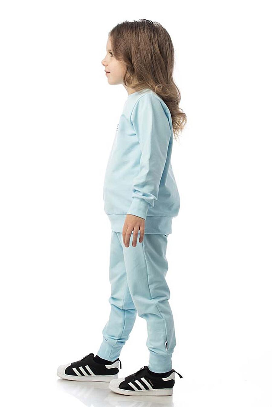 Костюм(Свитшот+Брюки) для девочек BODO 272783 купить оптом от производителя. Совместная покупка детской одежды в OptMoyo