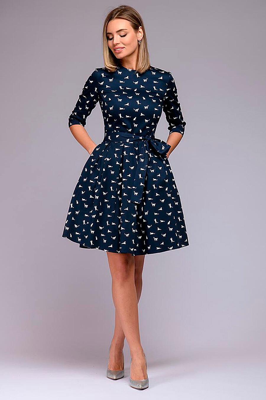 Платье для женщин 1001 DRESS 272984 купить оптом от производителя. Совместная покупка женской одежды в OptMoyo