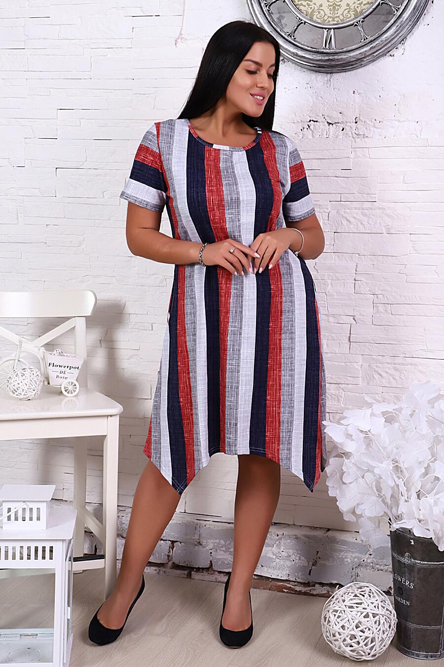 Платье 4852 для женщин НАТАЛИ 288653 купить оптом от производителя. Совместная покупка женской одежды в OptMoyo