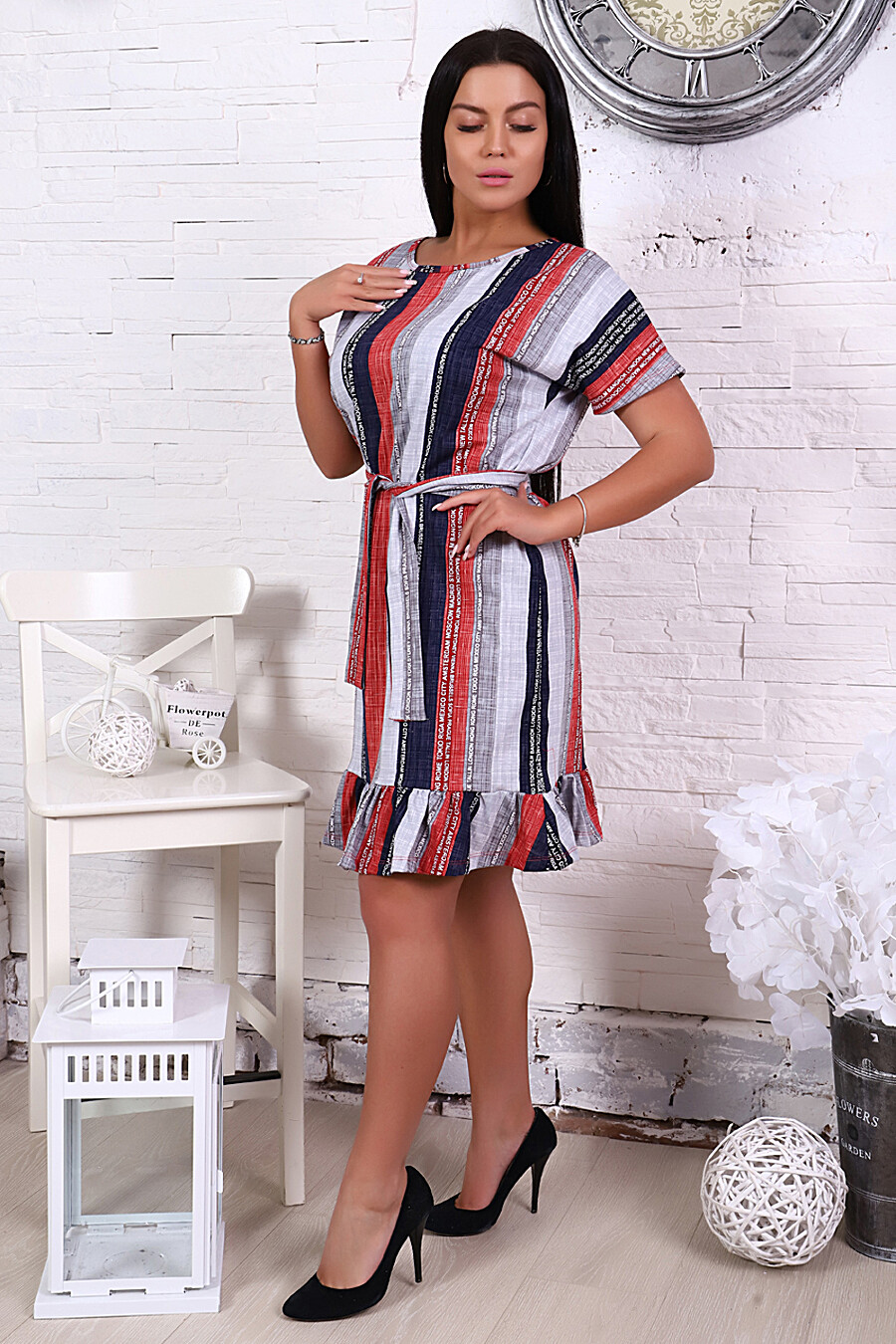 Сарафан 4851 для женщин НАТАЛИ 288654 купить оптом от производителя. Совместная покупка женской одежды в OptMoyo