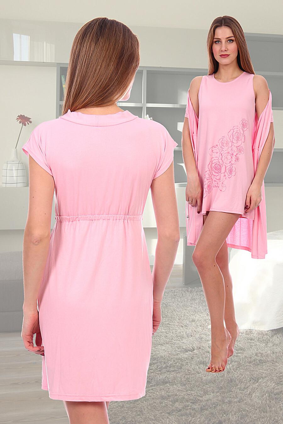 Пеньюар 4153 для женщин НАТАЛИ 288677 купить оптом от производителя. Совместная покупка женской одежды в OptMoyo