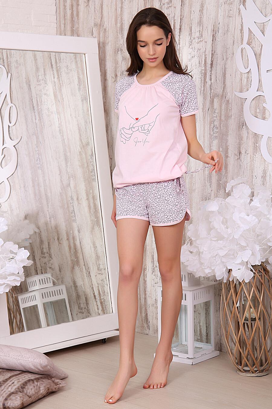 Пижама 40001 для женщин НАТАЛИ 288681 купить оптом от производителя. Совместная покупка женской одежды в OptMoyo