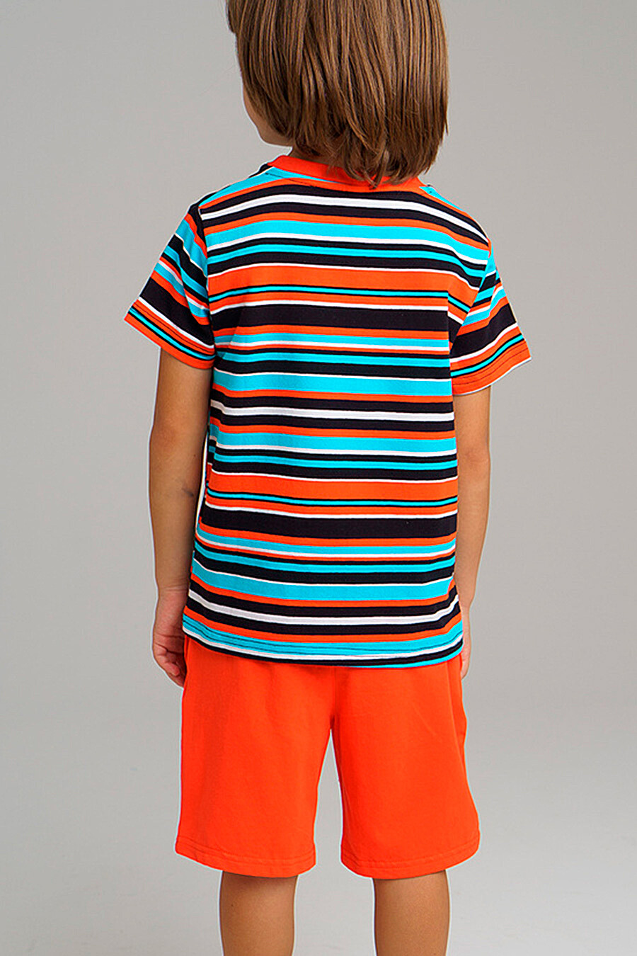 Футболка для мальчиков PLAYTODAY 289461 купить оптом от производителя. Совместная покупка детской одежды в OptMoyo