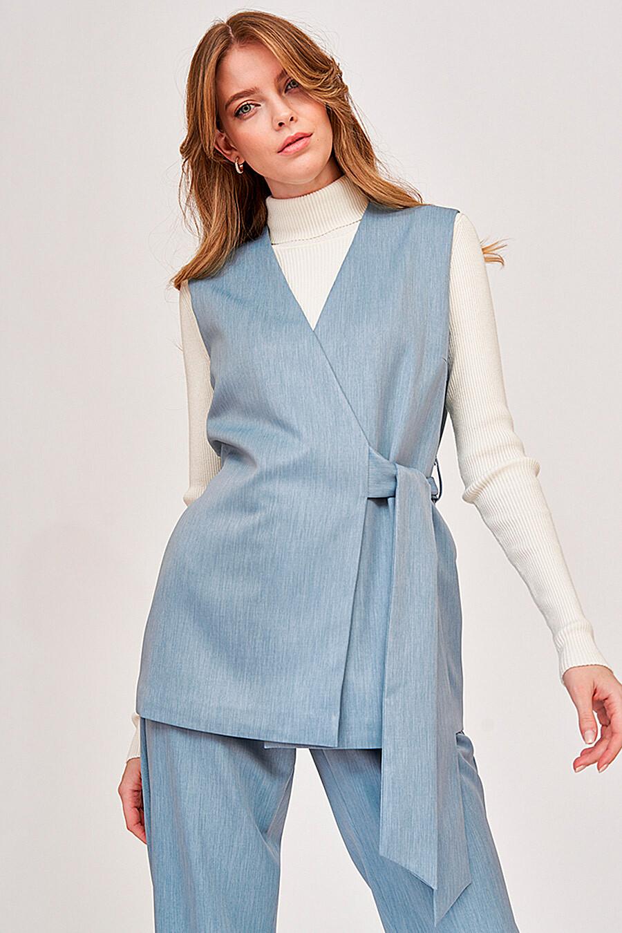 Костюм (Жилет+Брюки) для женщин VITTORIA VICCI 289544 купить оптом от производителя. Совместная покупка женской одежды в OptMoyo