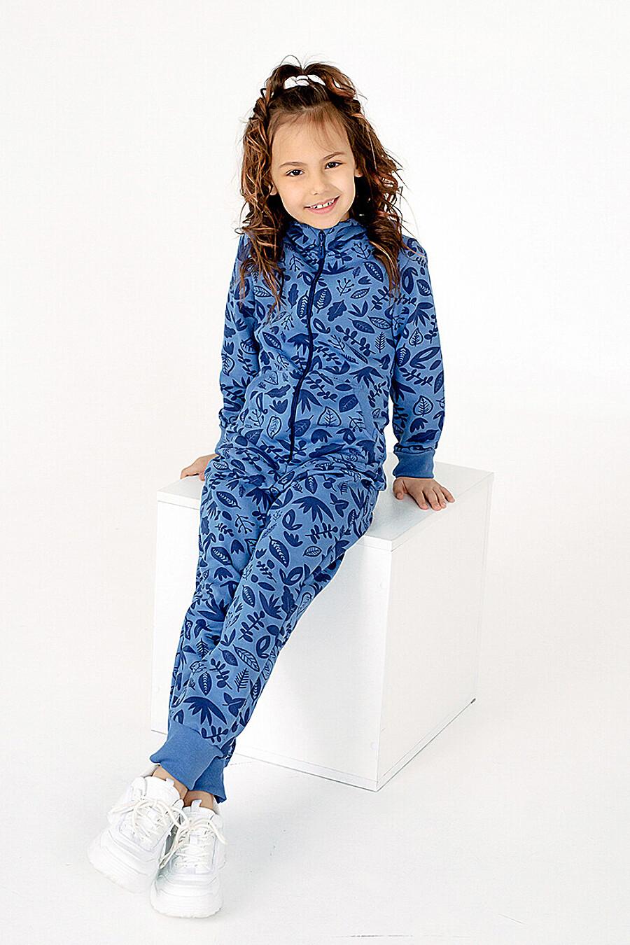 Комбинезон LILI листья синие SOVALINA (307828), купить в Moyo.moda