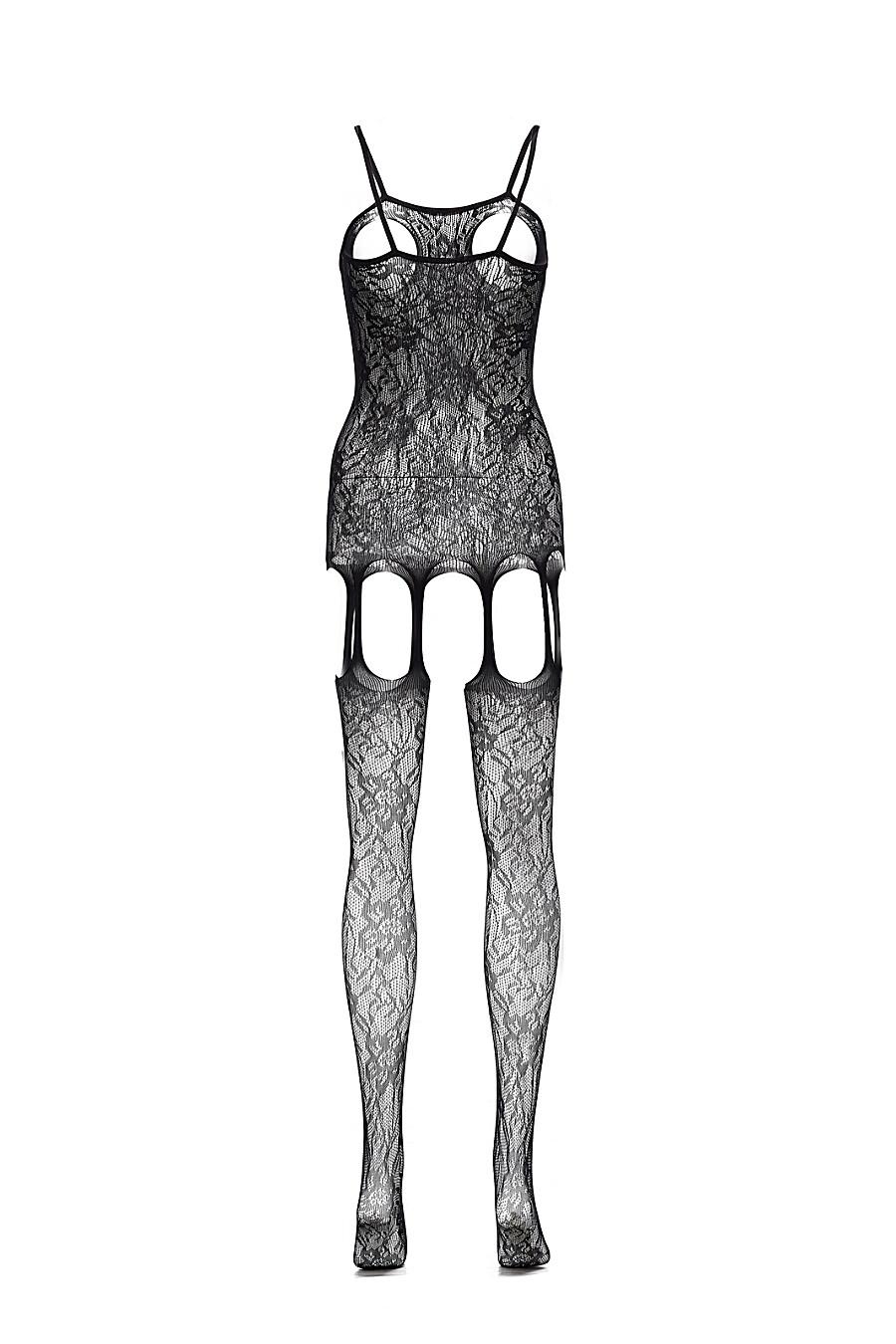 """Эротический комбинезон с открытой интимной зоной """"Цвет ночи"""" LE CABARET (307859), купить в Moyo.moda"""