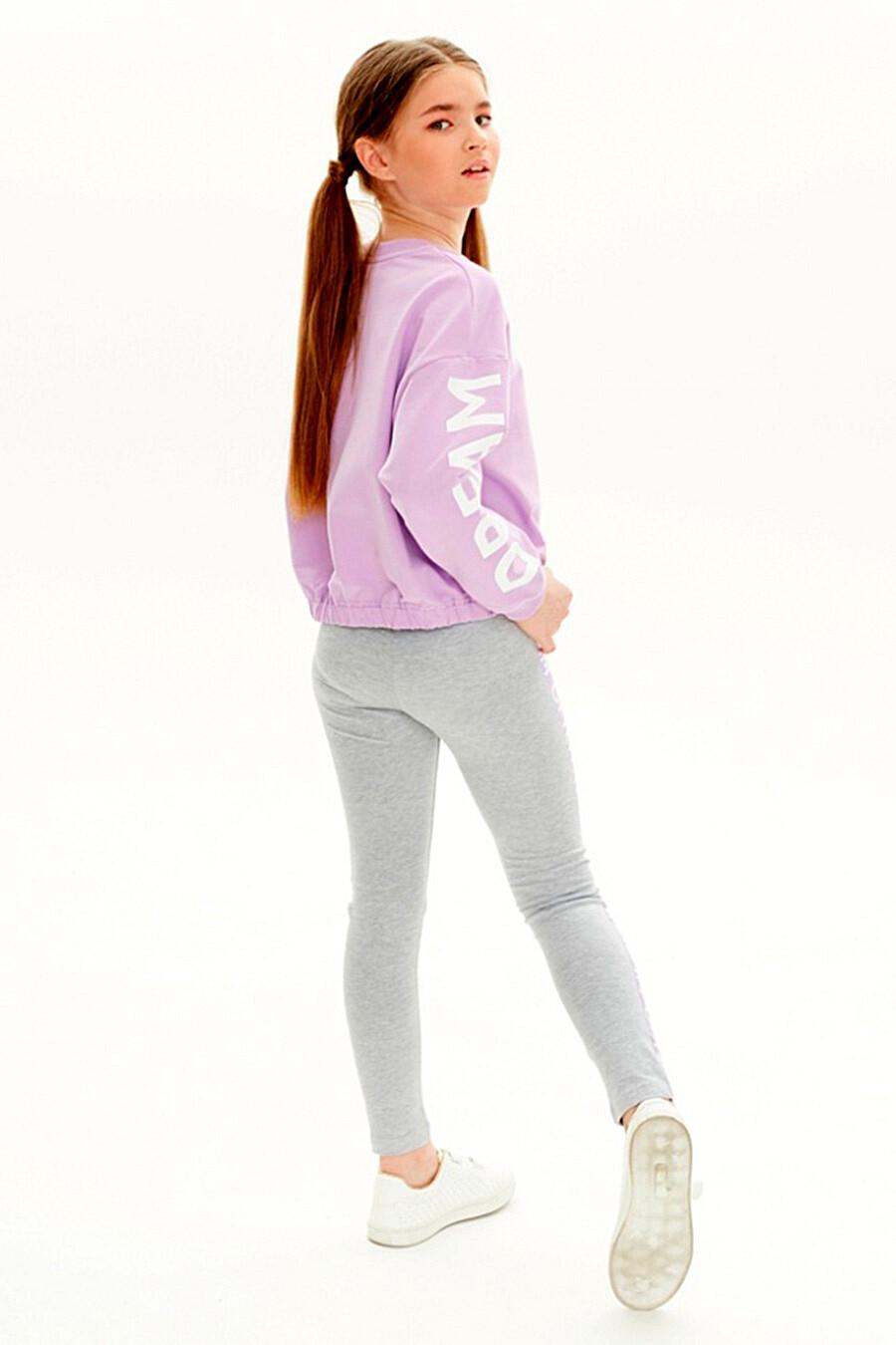 Легинсы для девочек UMKA 321811 купить оптом от производителя. Совместная покупка детской одежды в OptMoyo