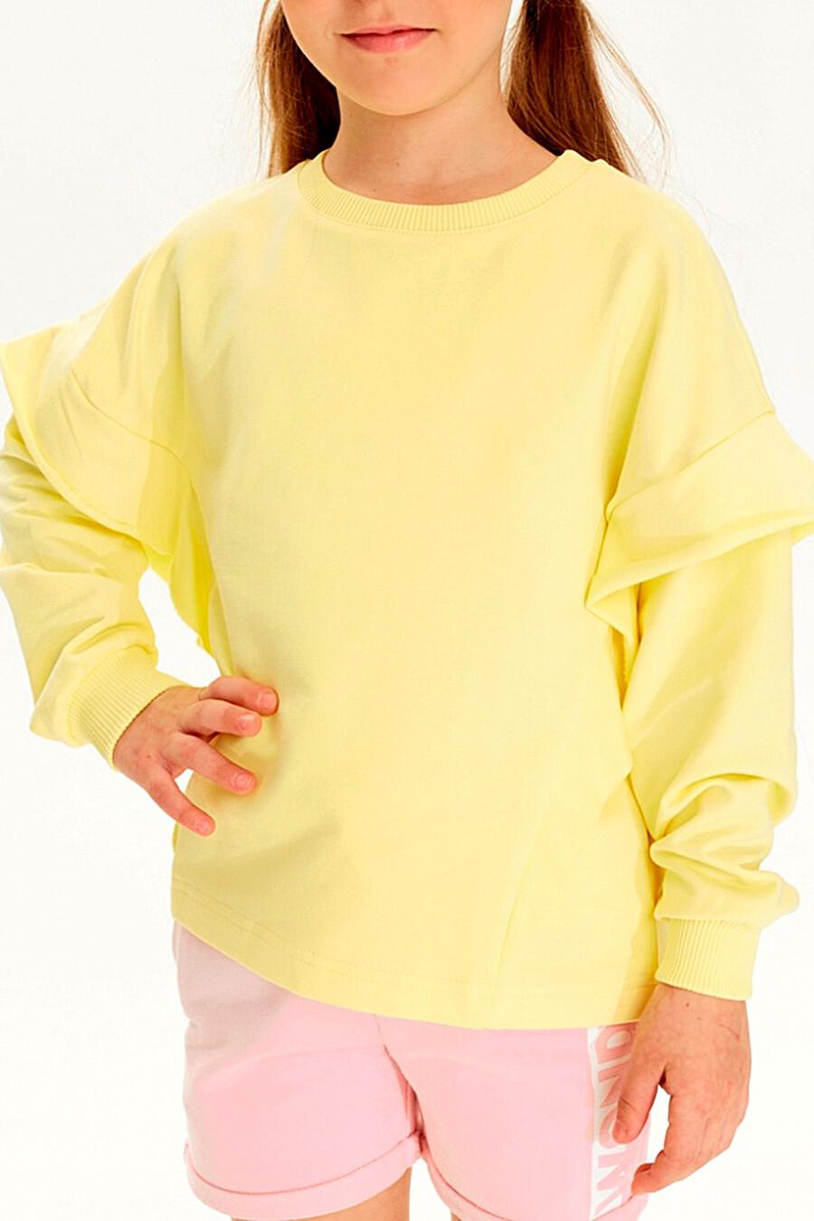 Толстовка для девочек UMKA 321827 купить оптом от производителя. Совместная покупка детской одежды в OptMoyo