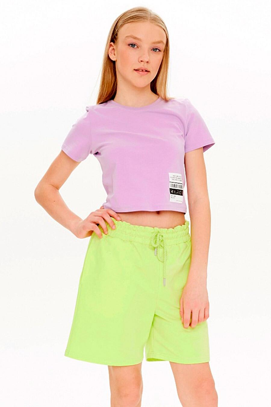 Шорты для девочек UMKA 321856 купить оптом от производителя. Совместная покупка детской одежды в OptMoyo