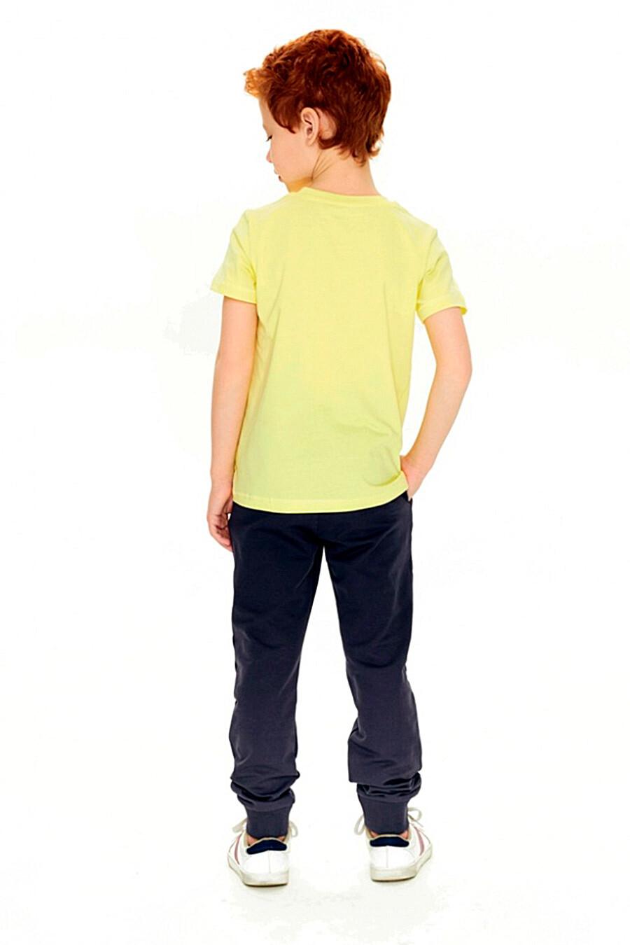 Брюки для мальчиков UMKA 321876 купить оптом от производителя. Совместная покупка детской одежды в OptMoyo